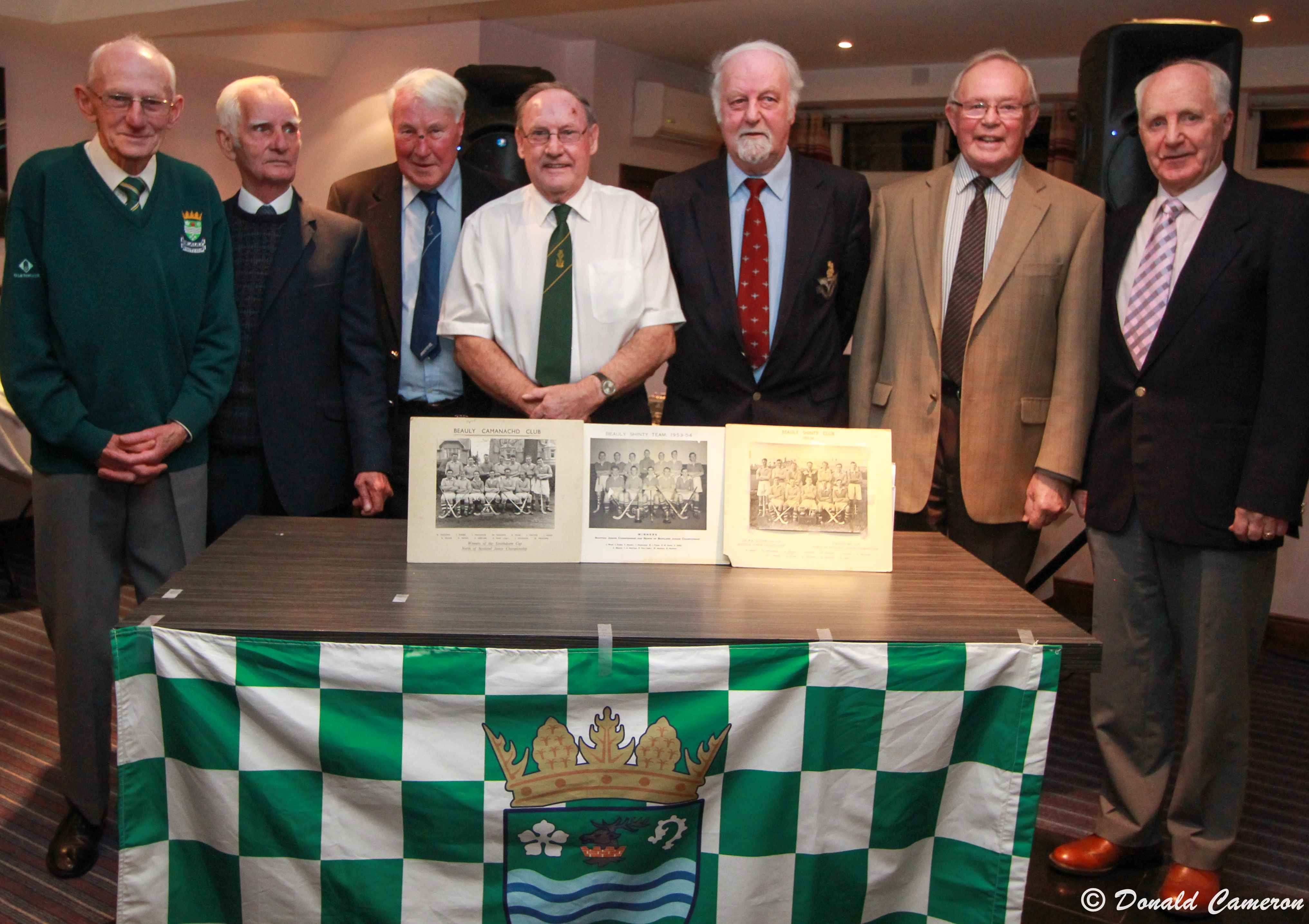 Photo: Beauly Shinty Club Inducts First Life Members